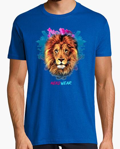 Camiseta Lion Paint