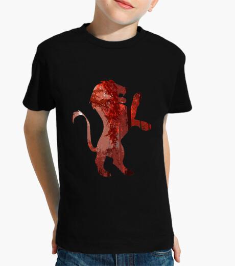 Ropa infantil Lion red forest