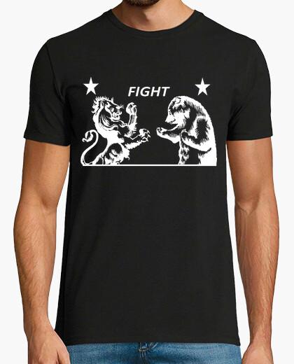 Camiseta Lion vs. Bear - Fight