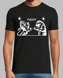 Lion vs. Bear - Fight