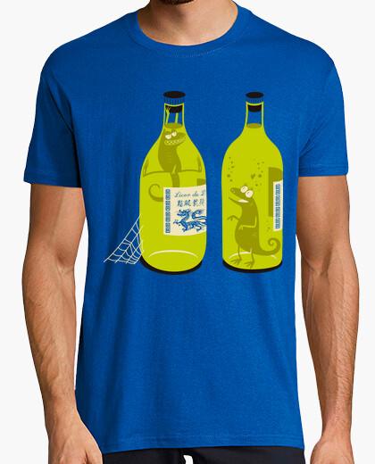 T-shirt liquore lucertola