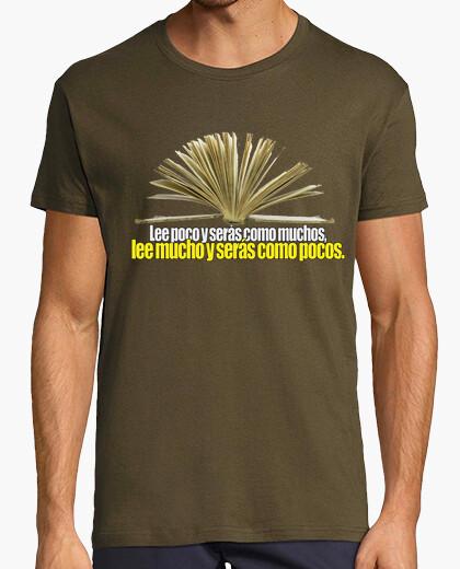 Tee-shirt lire beaucoup