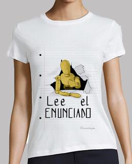 lire la déclaration 1 pour les chemises transparentes, femme