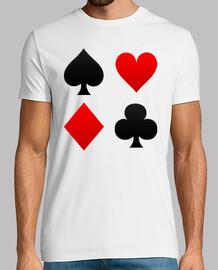 lisa adatta camicia poker