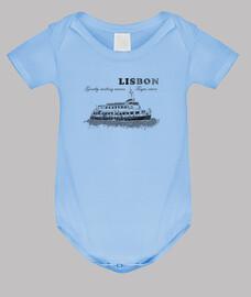 lisbona - onde delicatamente ondulate t