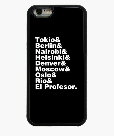 Coque Iphone 6 / 6S liste des villes