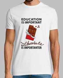 l'istruzione è importante - ma cioccolato i