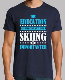l'istruzione è importante ma lo sci è imp