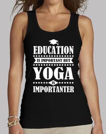 l'istruzione è importante, ma lo yoga