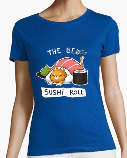 Tee-shirt lit de sushi