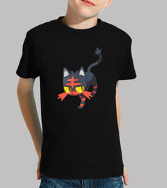 Litten Pokemon (Camiseta Niño)