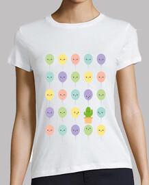 Little cactus - maglietta donna