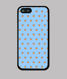 Little fox pattern for iPhone 5