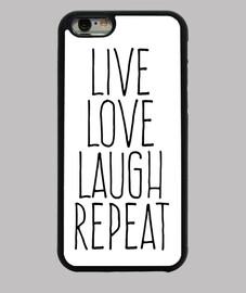 live amore risata ripetizione