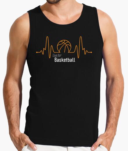 Camiseta Live for Basketball, Pasión por el Baloncesto