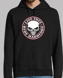live free-ride sweatshirt hardcore