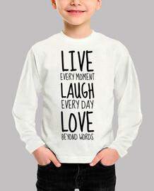 Live Laugh Love / Citation / Happy