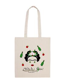 live the cider - bag
