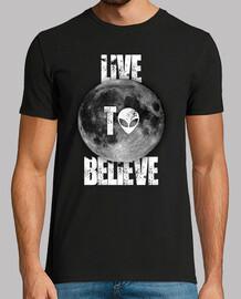 live to believe boy - black