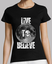 live to believe girl - black