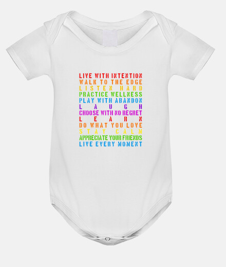 live with intention baby snapsuit