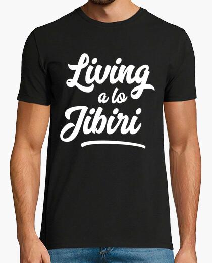 Camiseta Living a lo Jibiri