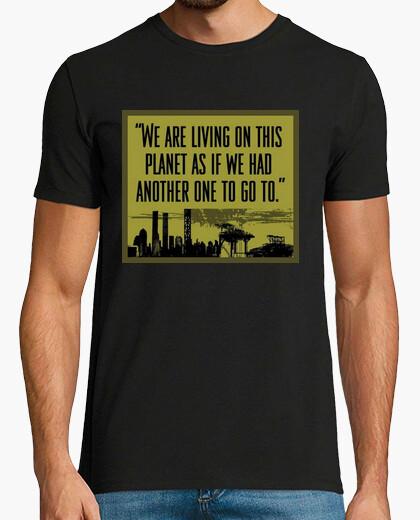 Camiseta Living on this Planet