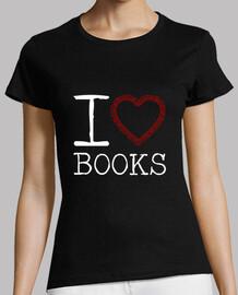livres t-shirt manches courtes femme