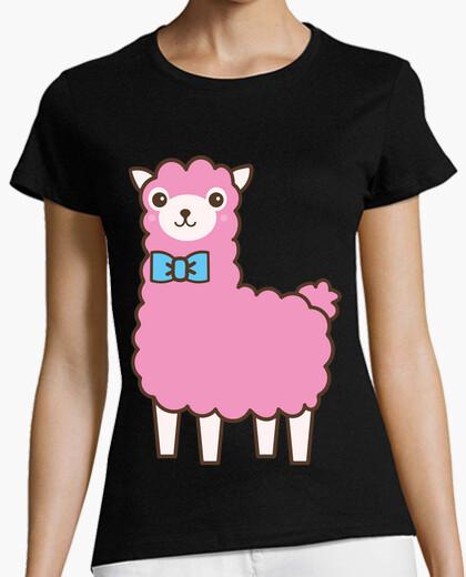 Camiseta Llama Rosa