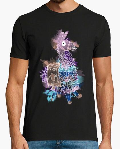 Camiseta Llama watercolor (2) - Unisex