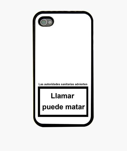 Funda iPhone Llamar puede matar