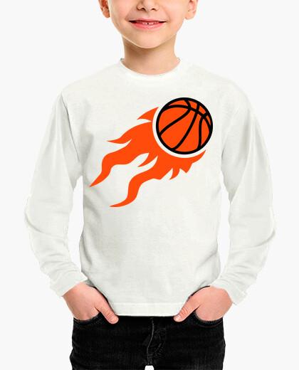 Ropa infantil llamas de baloncesto