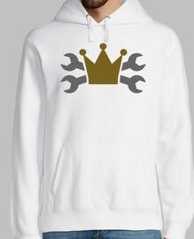 llave de tornillo cruzado corona