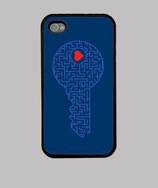 llave de tu corazón (azul)