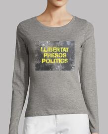 Llibertat presos polítics - dona màniga llarga