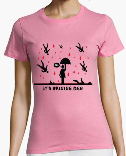 Camiseta Lloviendo hombres