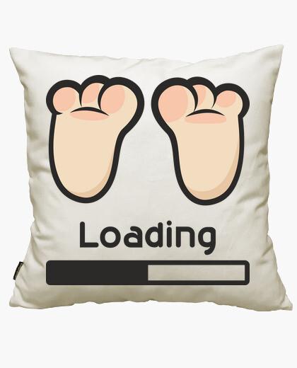 Loading cushion cover