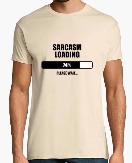 T-shirt loading ... il sarcasmo / humor