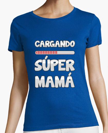 Loading super mom t-shirt