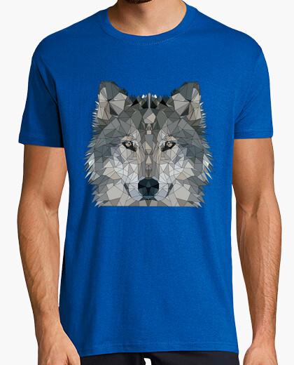 Camiseta Lobo  low poly