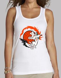 lobo blanco mujer diosa tanque