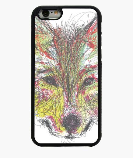 Funda iPhone 6 / 6S Lobo Color 2