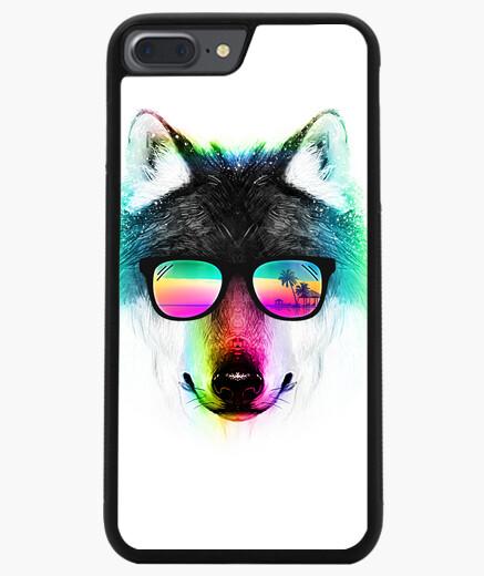 Funda iPhone 7 Plus / 8 Plus lobo de verano