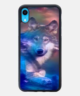 Lobo Funda iPhone XR
