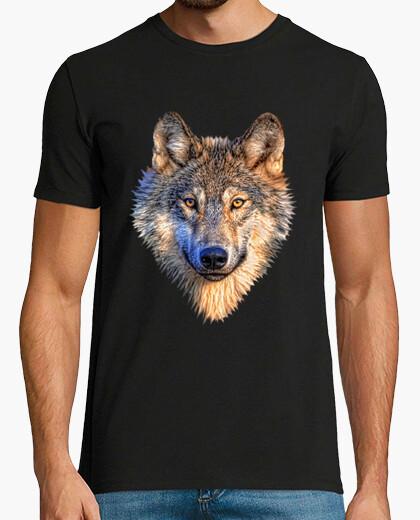 Camiseta Lobo Gris
