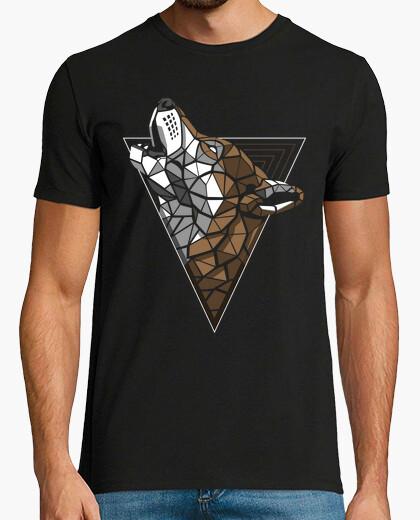 Camiseta Lobo Hipster