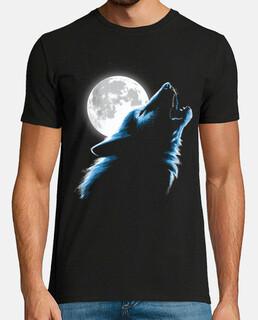 Lobo luna llena
