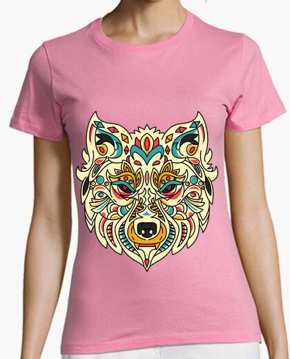 Lobo Mandala Camiseta Nº 1438194 Camisetas Latostadora