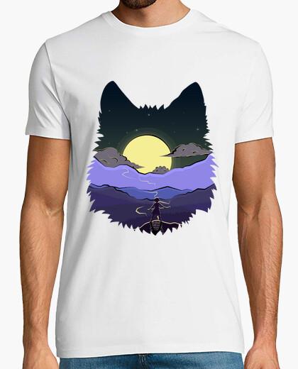 Camiseta lobo mononoke espíritu de la...