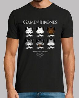 Lobos Juego de tronos